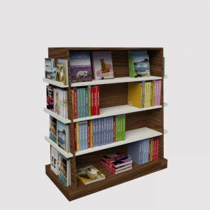Γόνδολα-ραφιέρα-βιβλίων-έπιπλα-καταστημάτων-εξοπλισμός-βιβλιοπωλείου