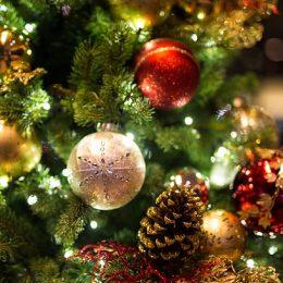 χριστουγεννιατικος στολισμος δεντρων