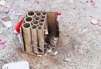 Χρησιμοποιημένα Πυροτεχνήματα